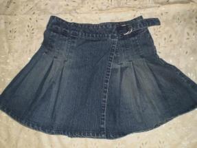 Из старых джинс юбка своими руками